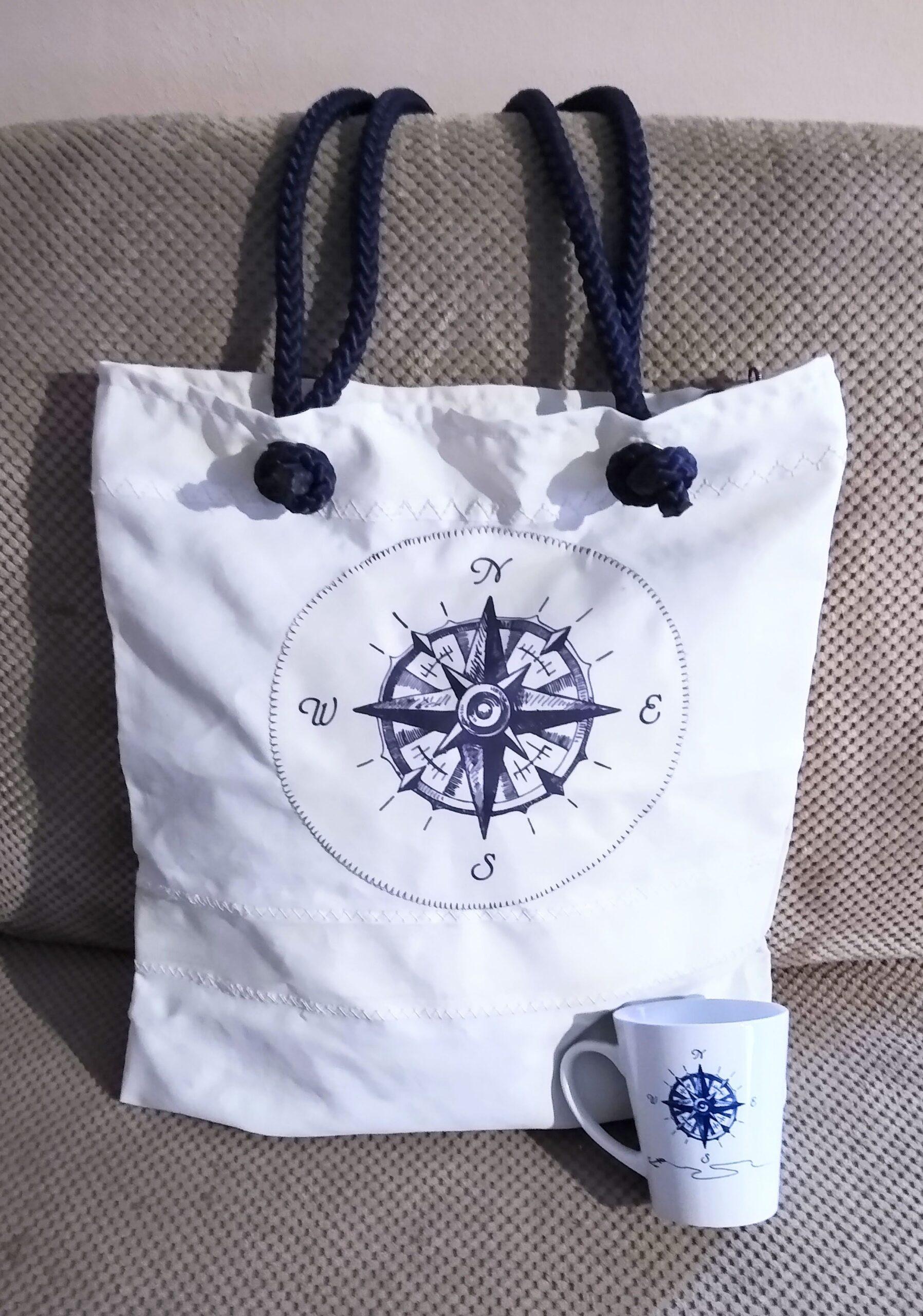 zestaw prezentowy na święta torba z żagla