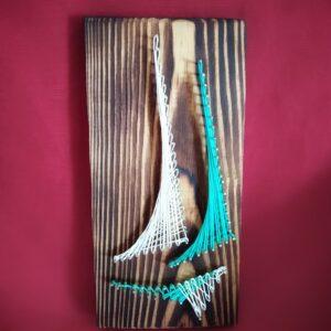 dekoracje marynistyczne żaglówk