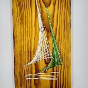 żaglówka strin art
