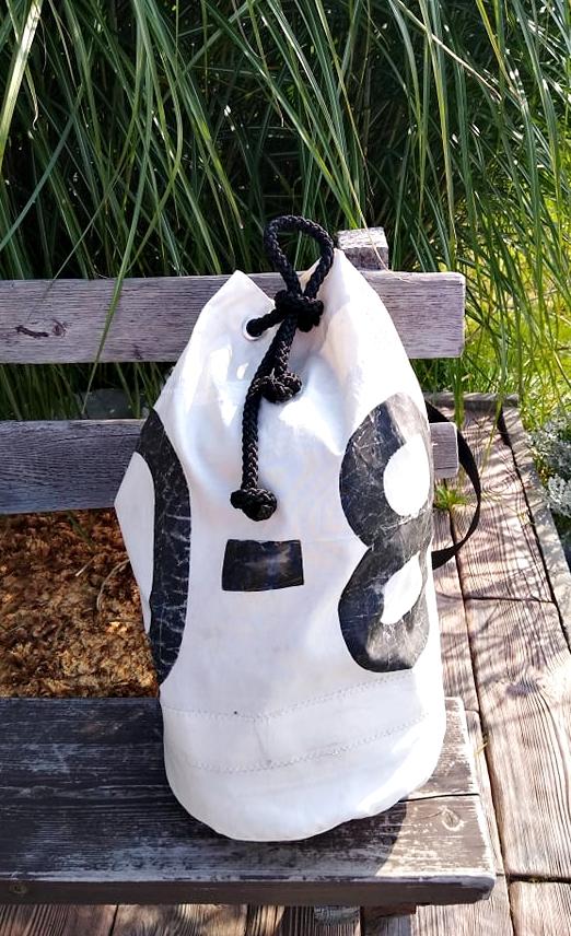 worek żeglarski z żagla