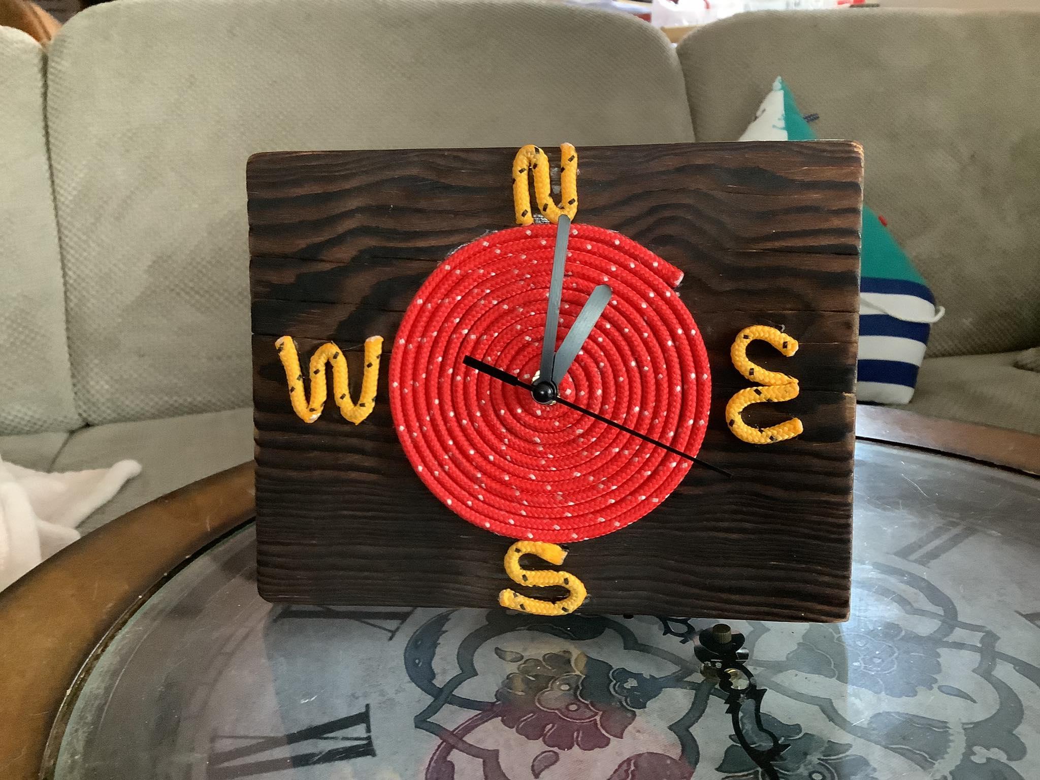 Zegar marynistyczny, dekoracje marynistyczne, dekoracje morskie
